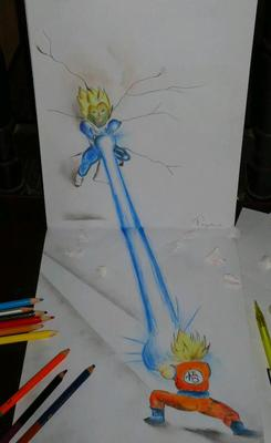 3d of Dragon Ball Z