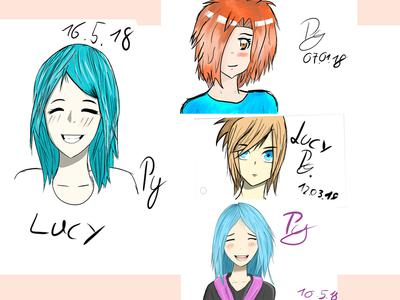 4 drawings over time