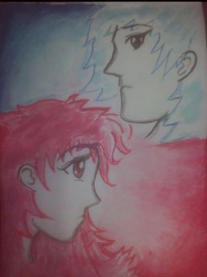 A distant couple