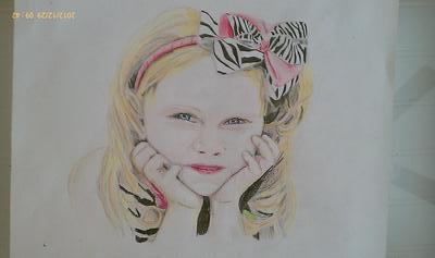 Alissa age 4 colored