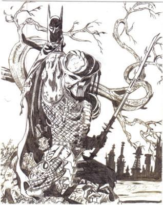 Batman Vs Pedator