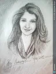 Beautiful girls sketches