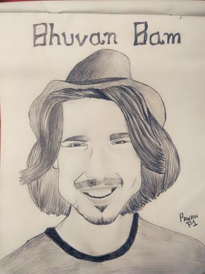 Bhuvan Bam sketch