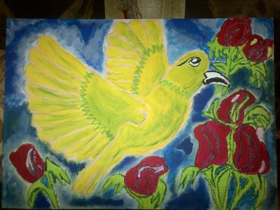 bird in paradise!
