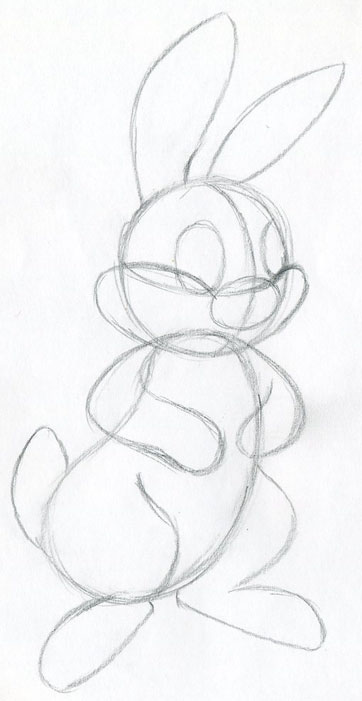 Let S Draw Cartoon Rabbit Easy To Follow Tutorial