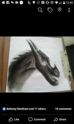 Charcoal dragon