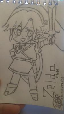 Chibi Zelda