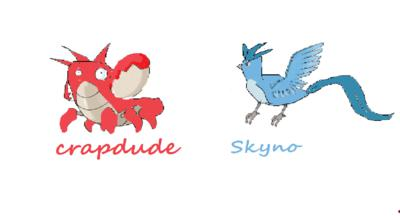 Crapdude and Skyno