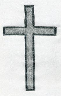 Pencil Drawings Of Crosses Interesting Cross Draw...
