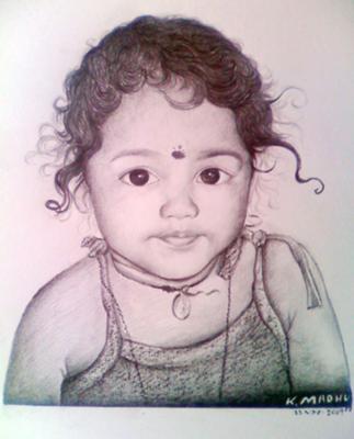 Varsha a cute baby
