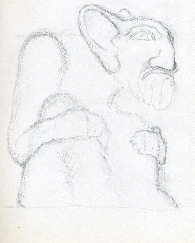 Simple Demon Drawings