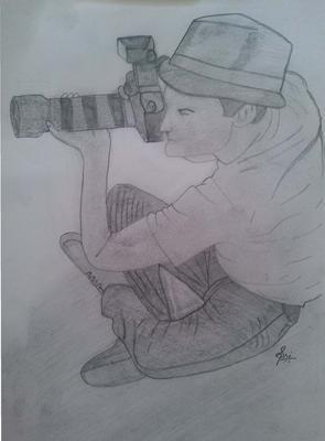 Photographer Sketch
