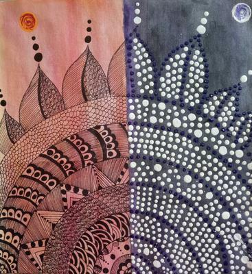 Dot Mandala Art