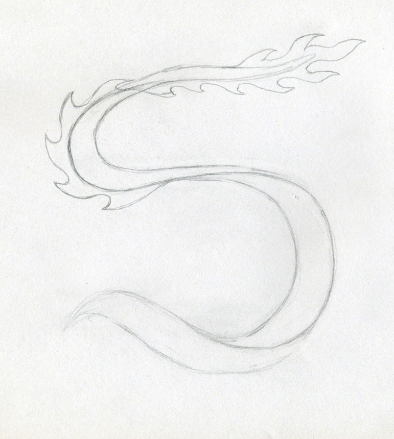 Tail Of The Dragon Photos >> Dragon Drawing Simple And Perfect