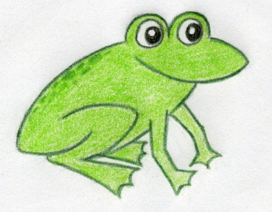 Cartoon frog - photo#11