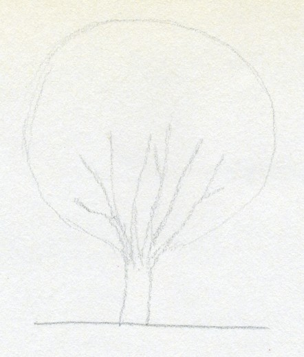 Draw A Tree Simply And Easily