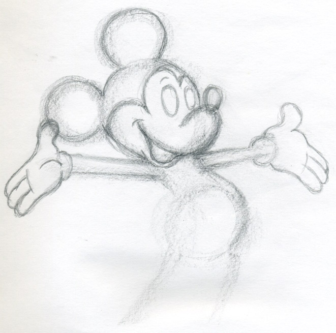 Draw mickey mouse for How to draw with a mouse