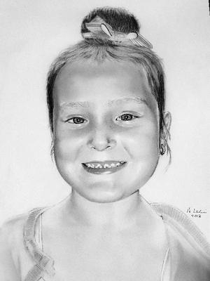 Drawing of my granddaughter Jessica