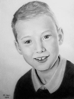 Drawing of my grandson Andrew