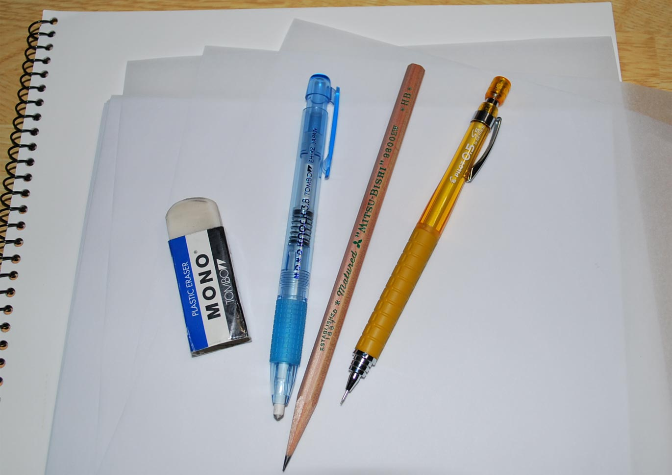 Draw A Tools For Art Pencil Sketch