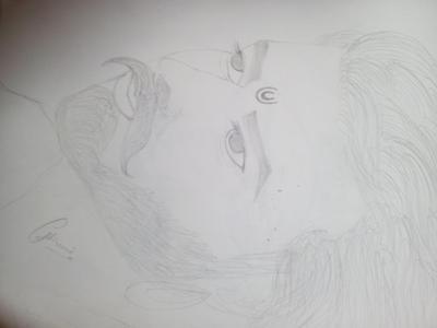 Pencil sketch  of south star prabhas sir ( bahubali )