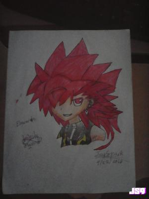 Elsword - Infinity Sword Drawing
