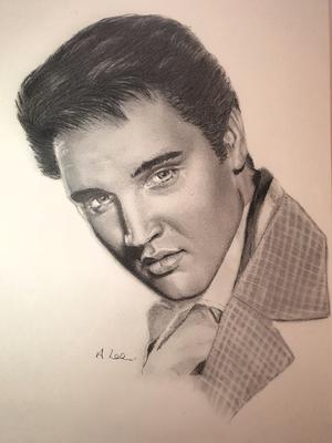Elvis Drawing No 10