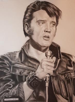 Elvis Drawing No 12