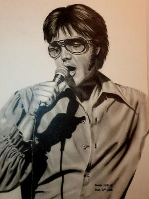 Elvis Drawing No15