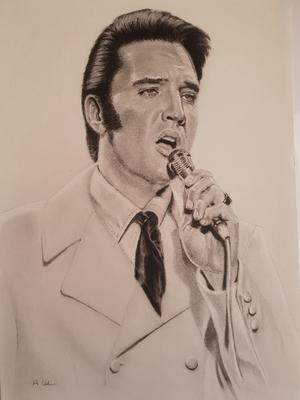 Elvis Presley drawing ...