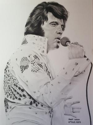 Elvis Presley Drawing No 14