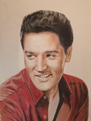 Elvis Presley Drawing No 21