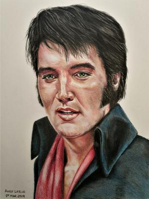 Elvis Presley Drawing No 22