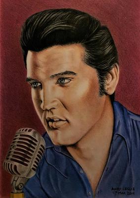 Elvis Presley Drawing No 23