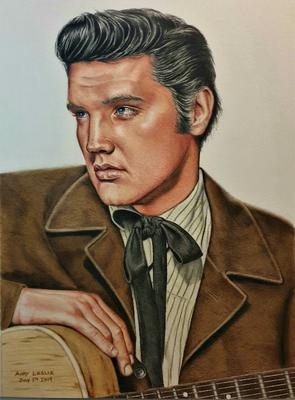 Elvis Presley Drawing No 27