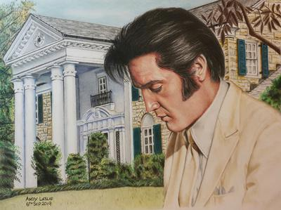 Elvis Presley Drawing No 29