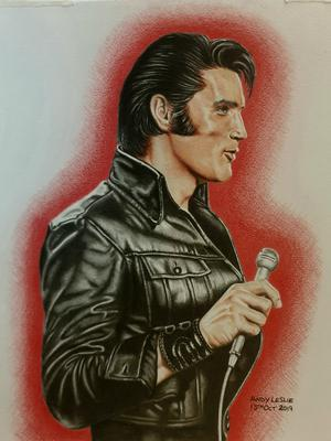 Elvis Presley Drawing No 31