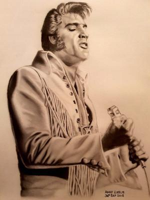 Elvis Presley drawing No.17