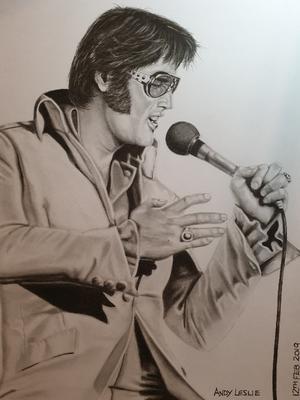 Elvis Presley Drawing No20