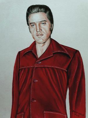 Elvis Presley Drawing No24