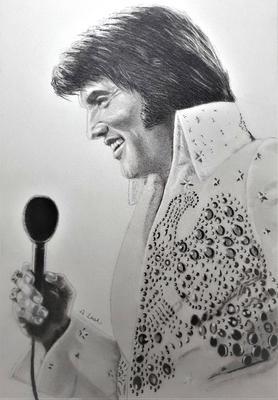 Elvis Presley drawing no9