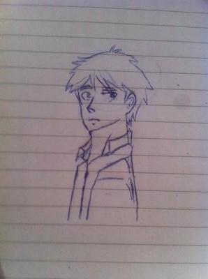 First Manga Drawing