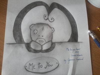 Me-2-You teddy bear