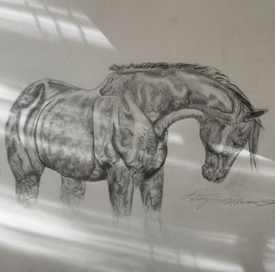 Horse head bow