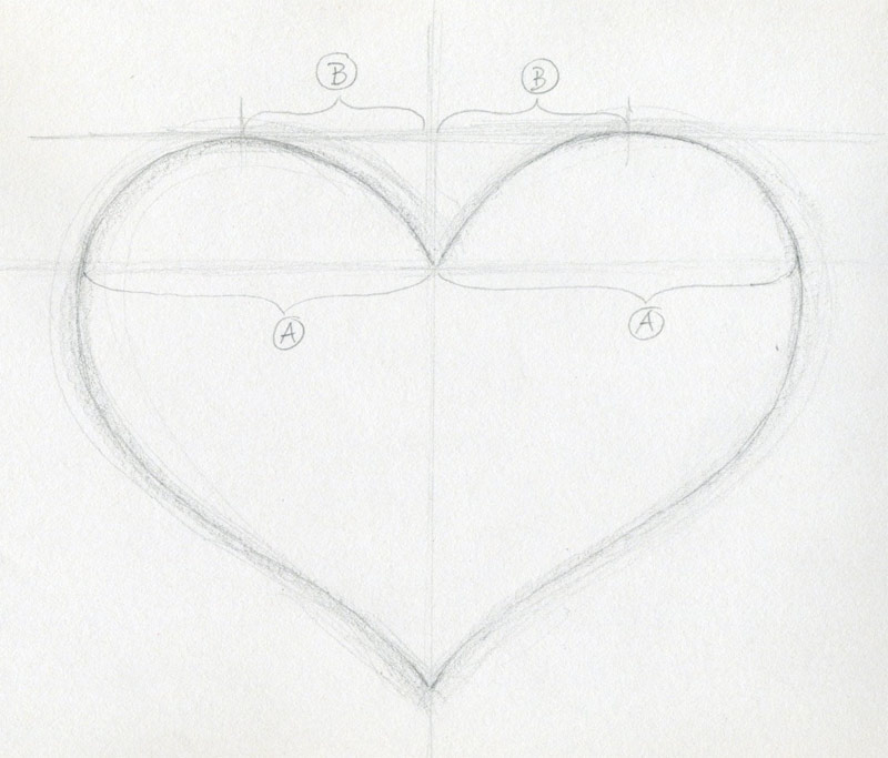 How to draw a heart bhestforme for Easy to make sketches