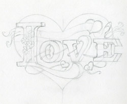 Heart Full Of Love Quotes. QuotesGram |Pencil Drawings Of Love Hearts