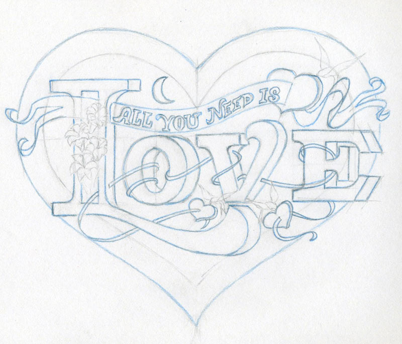 Learn To Draw A Heart Very Inspiring