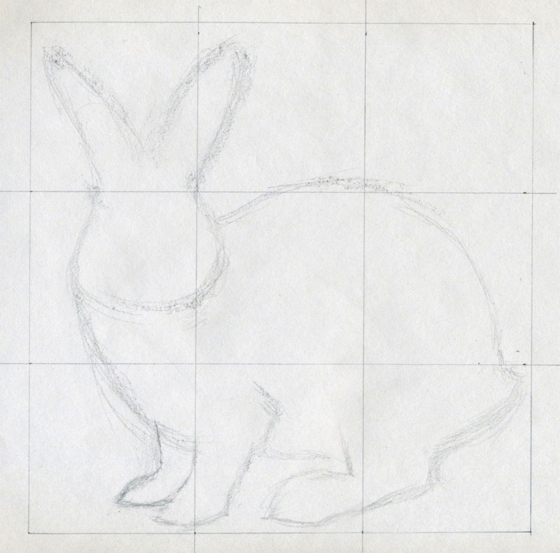 b3a3e56550 How To Draw A Rabbit