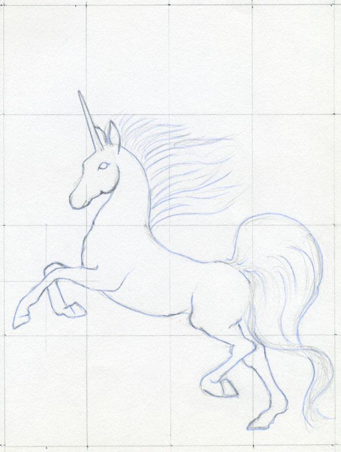 Want To Draw A Unicorn