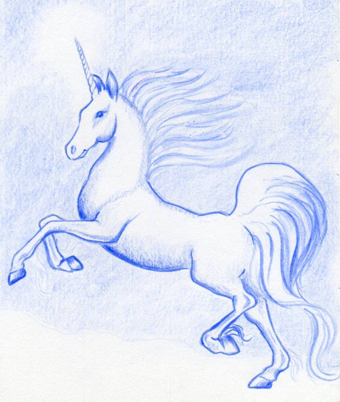 Want to draw a unicorn